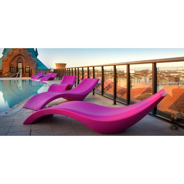 Sdraio prendisole cloe ideale da inserire a bordo piscina for Sdraio bordo piscina