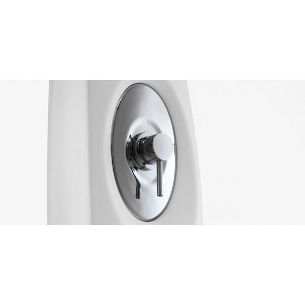 Doccia dyno con mixer ideale per uso interno o esterno - Siliconare box doccia interno o esterno ...