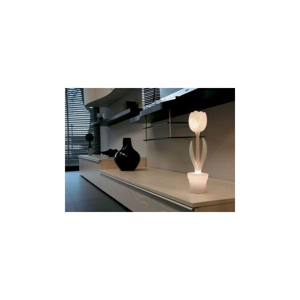 Tulip small con illuminazione complemento d 39 arredo for Illuminazione d arredo